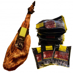 SLICED DON PEDRO CURED HAM Vacuum sealed. Pack: 200 g. 