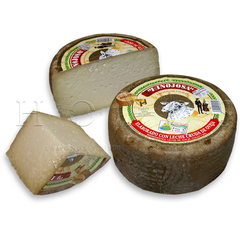 HINOJOSA  SEMI-CURED CHEESE (BIG) Semi-cured cheese. Made from unpasteurised sheep's milk.