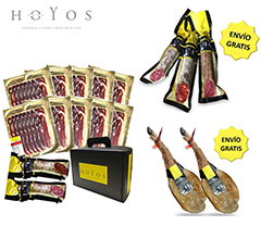 SPECIAL OFFERS AND PROMOTIONS Special offer packs and promotions. Iberian cured hams and meats and Iberian acorn-fed cured hams and meats. Hermanos Hoyos.